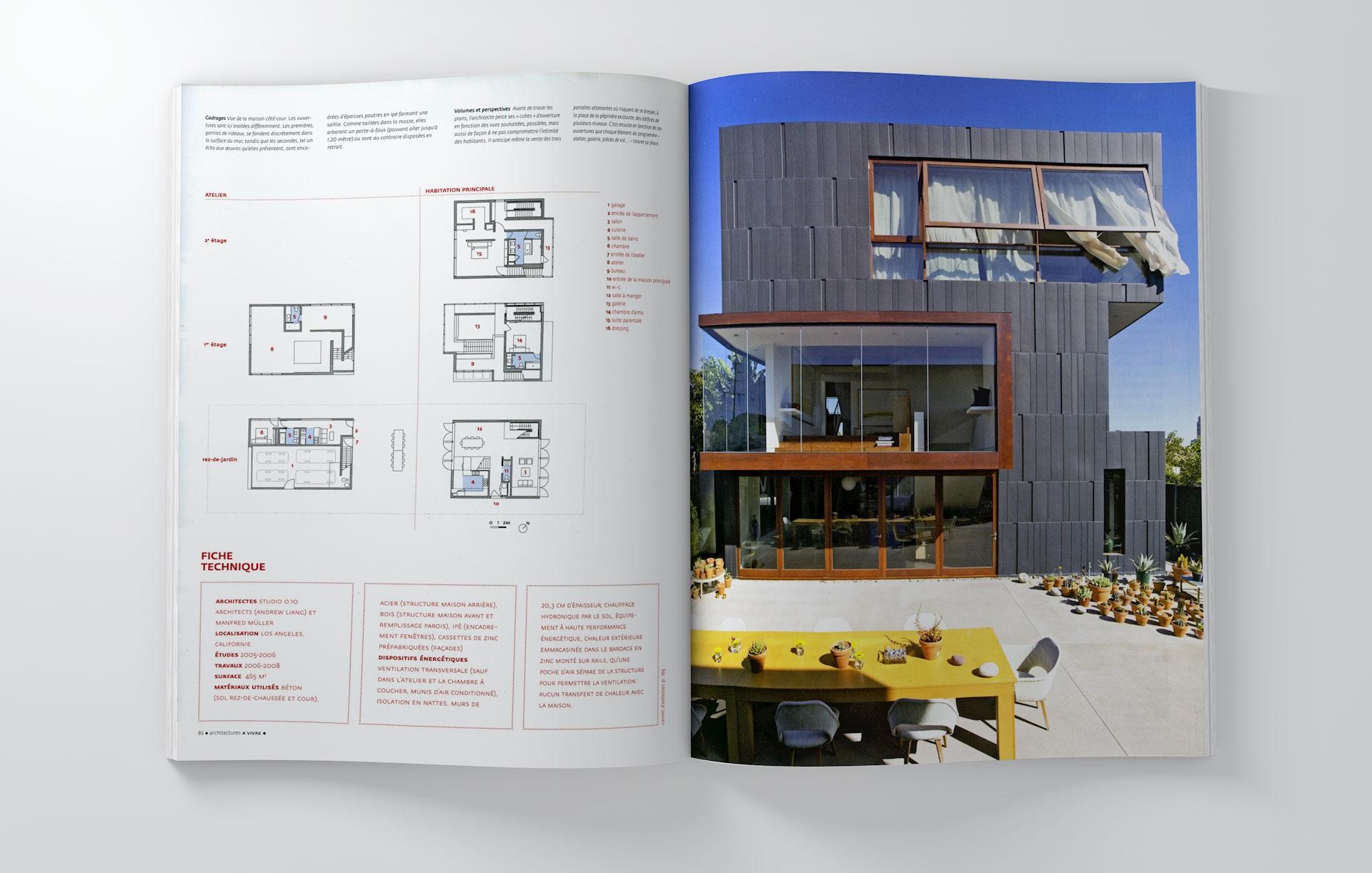 À vivre architectures no. 58 january february 2011 france lab