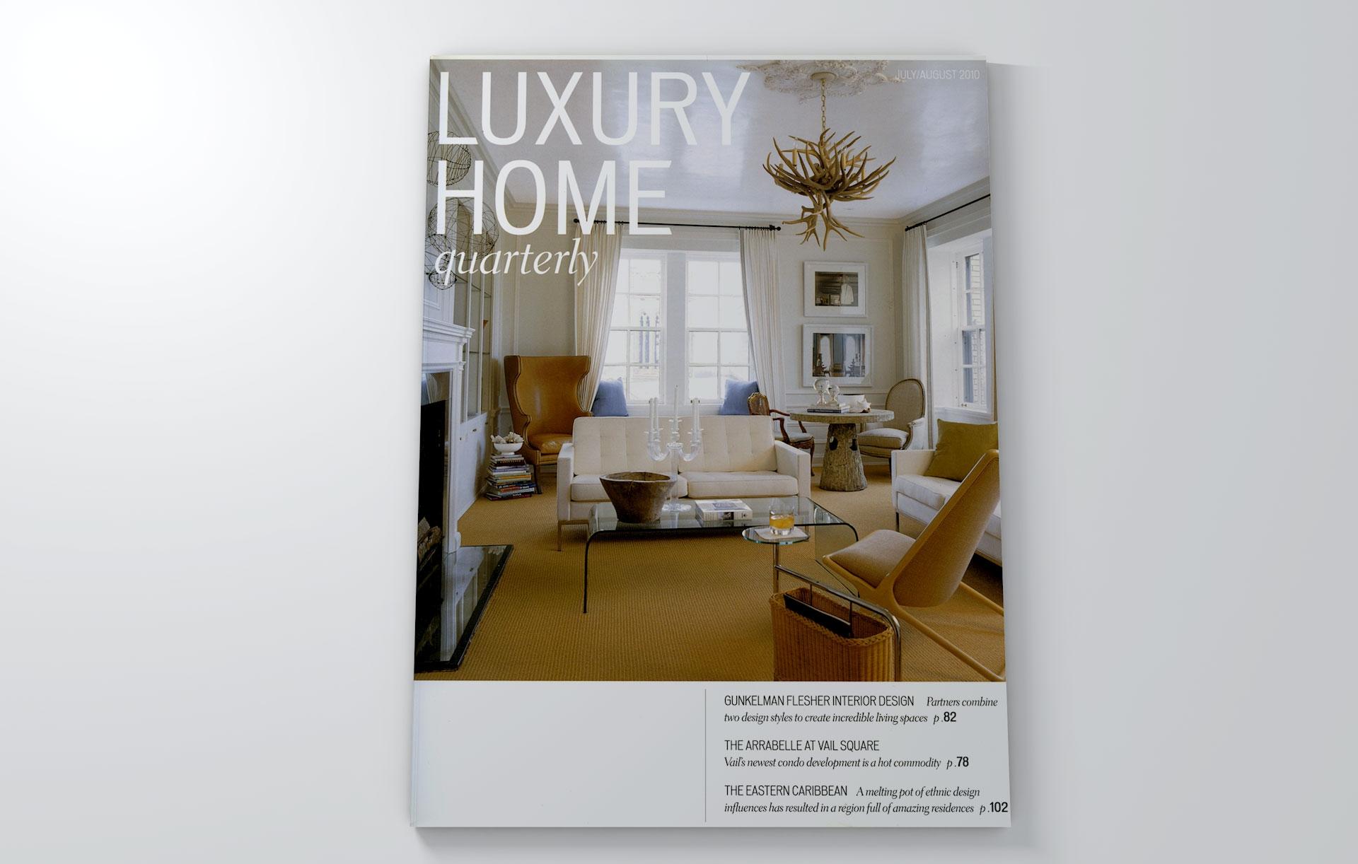 luxury home quarterly july august 2010 u s lab